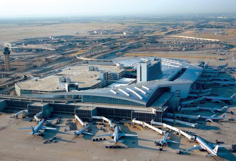 DFW Airport Slide
